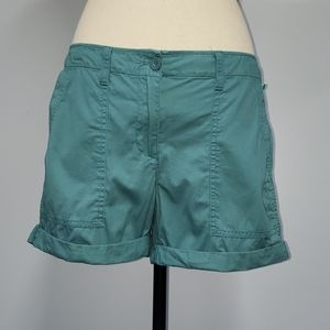 Loft rolled cuff shorts